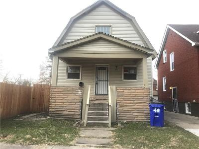 Detroit Single Family Home For Sale: 411 Manistique Street