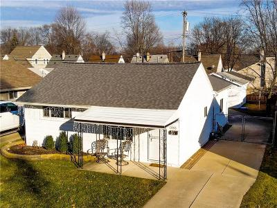 Royal Oak, Royal Oak Twp Single Family Home For Sale: 3806 Kent Road