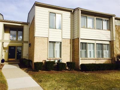 Southfield Condo/Townhouse For Sale: 22500 Saratoga Street