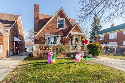 Dearborn Single Family Home For Sale: 7256 Kentucky Street