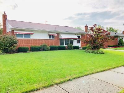 Dearborn Single Family Home For Sale: 8626 Berwyn Street
