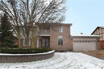 Rochester Hills Single Family Home For Sale: 271 Stonetree Circle