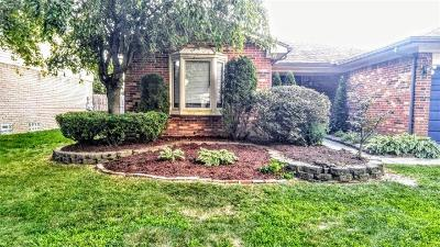 Sterling Heights Single Family Home For Sale: 14040 Peterboro Drive