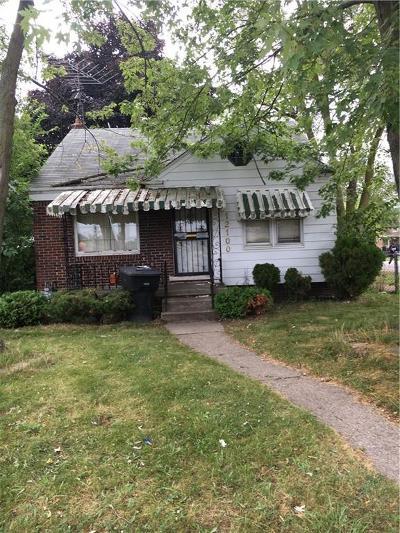 Detroit Single Family Home For Sale: 12100 Duchess Street