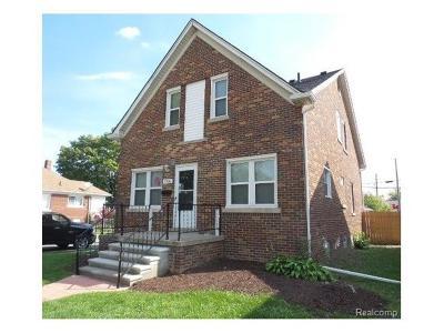 Lincoln Park MI Single Family Home For Sale: $99,900
