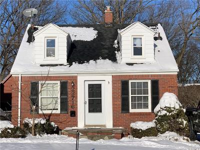 Dearborn Single Family Home For Sale: 22716 Oxford Street