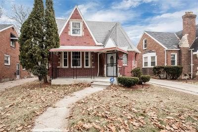 Detroit Single Family Home For Sale: 16550 Avon Avenue