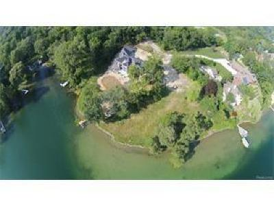 West bloomfield Twp Residential Lots & Land For Sale: 2617 Cove Lane