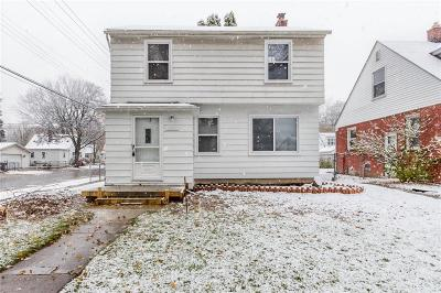 Dearborn Single Family Home For Sale: 3180 Detroit Street
