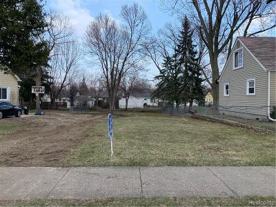 Clawson Residential Lots & Land For Sale: 619 S Chocolay Street