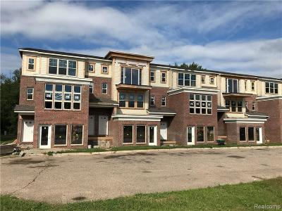 Walled Lake Condo/Townhouse For Sale: 47 Legato Drive