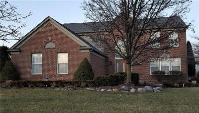 CANTON Single Family Home For Sale: 4738 Sherwood Circle