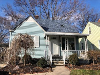 Dearborn Single Family Home For Sale: 3146 Chestnut Street