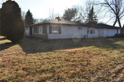 Romulus Single Family Home For Sale: 7860 Wayne Road