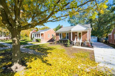 Birmingham Single Family Home For Sale: 1389 S Eton Street