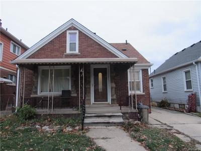 Dearborn Single Family Home For Sale: 6634 Yinger Avenue