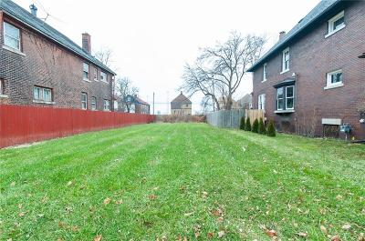 Detroit Residential Lots & Land For Sale: 781 W Grand Boulevard