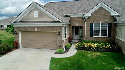 Macomb Twp Condo/Townhouse For Sale: 49612 Cosimo Court #166
