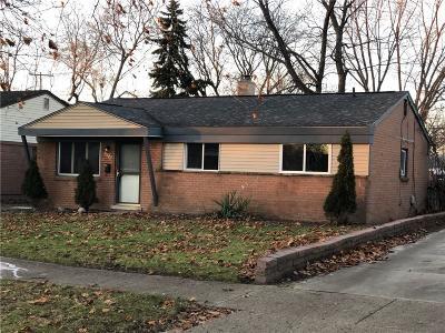 Westland Single Family Home For Sale: 30520 Steinhauer Street