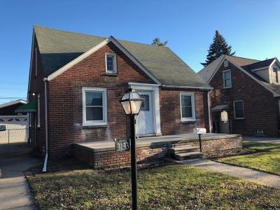 Dearborn MI Single Family Home For Sale: $129,900