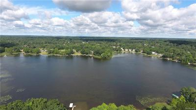 Livingston County Residential Lots & Land For Sale: 3086 Beach Lake Drive W