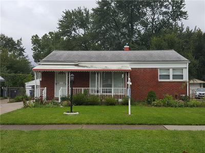 Plymouth Twp, Canton Twp, Livonia, Garden City, Westland Single Family Home For Sale: 30547 Rustic Lane