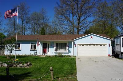 Waterford, Waterford Twp Single Family Home For Sale: 1080 Shady Lane