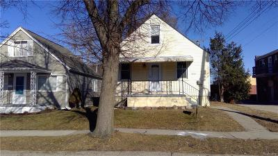 Hazel Park Single Family Home For Sale: 1845 E Granet Avenue