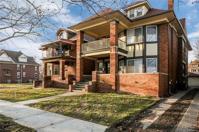 Detroit Condo/Townhouse For Sale: 319 E Philadelphia Street