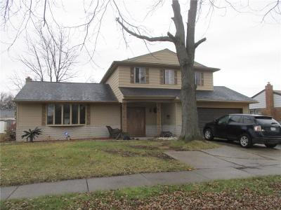 Dearborn Heights Single Family Home For Sale: 25880 Cherry Hill Road