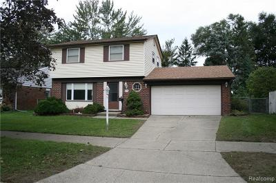 Salem, Salem Twp, Plymouth, Plymouth Twp Single Family Home For Sale: 9295 Caprice Drive
