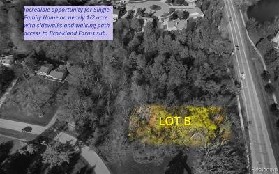 Novi Residential Lots & Land For Sale: 22669 Cottisford Street
