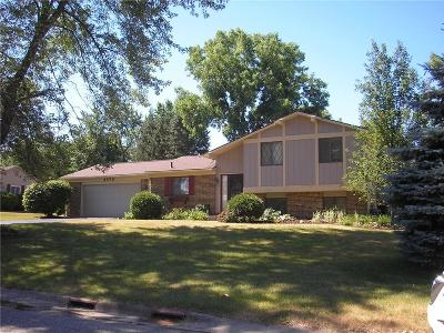City Of The Vlg Of Clarkston, Clarkston, Independence, Independence Twp Single Family Home For Sale: 4573 Hillview Shores