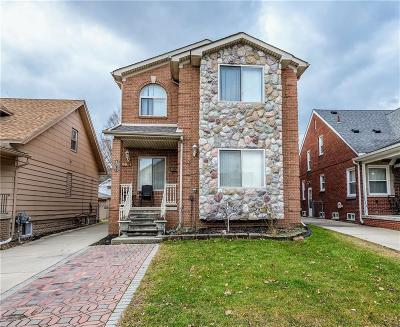Allen Park, Lincoln Park, Southgate, Wyandotte, Taylor, Riverview, Brownstown Twp, Trenton, Woodhaven, Rockwood, Flat Rock, Grosse Ile Twp, Dearborn, Gibraltar Single Family Home For Sale: 4971 Orchard Avenue