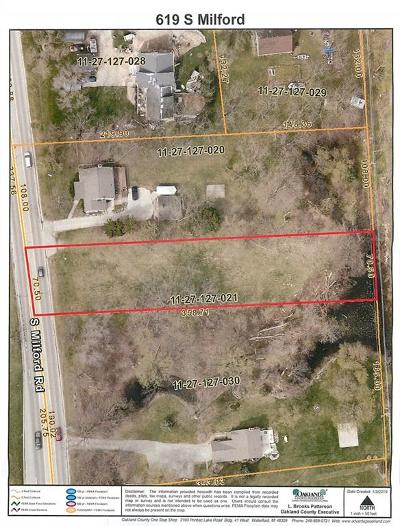 Highland Twp MI Residential Lots & Land For Sale: $35,000