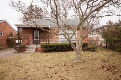 Huntington Woods Single Family Home For Sale: 13352 Lasalle Ave