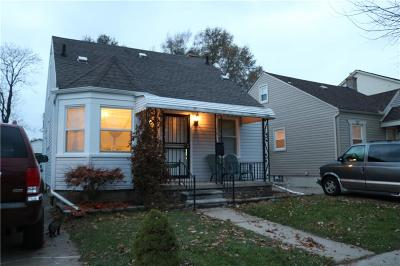 Dearborn Single Family Home For Sale: 7911 Coleman Street