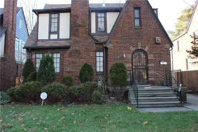 Detroit Single Family Home For Sale: 16203 Rosemont Avenue