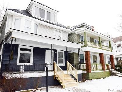 Detroit Single Family Home For Sale: 550 Mount Vernon Street