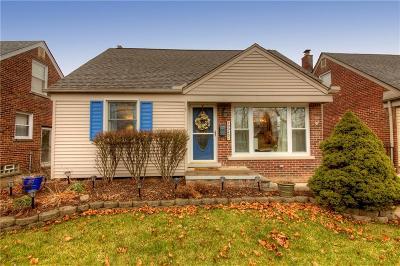 Allen Park Single Family Home For Sale: 9943 Park Avenue