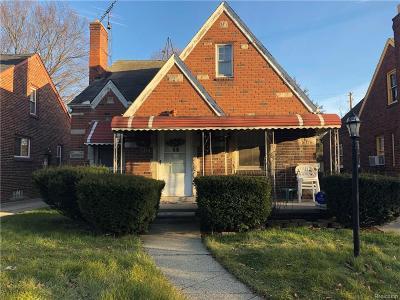 Detroit Single Family Home For Sale: 11814 Payton Street