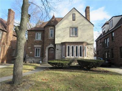 Detroit Single Family Home For Sale: 18644 Muirland Street