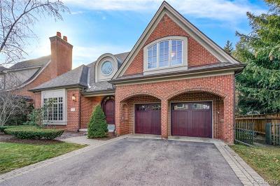 Birmingham MI Single Family Home For Sale: $2,199,000
