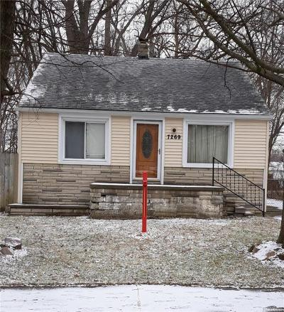 Taylor MI Single Family Home For Sale: $89,900