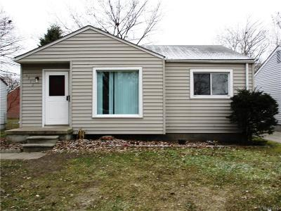 Taylor Single Family Home For Sale: 6772 Cornell