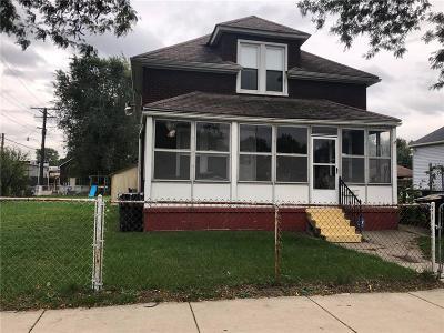 Detroit Single Family Home For Sale: 8031 Longworth Street