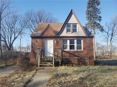 Detroit Single Family Home For Sale: 13549 Warwick Street