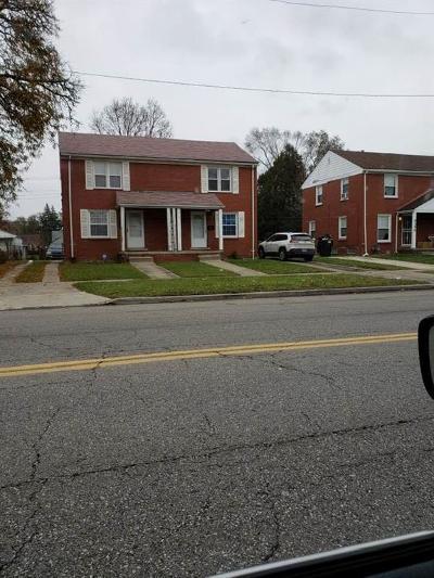 Detroit Single Family Home For Sale: 15331 W Chicago Street
