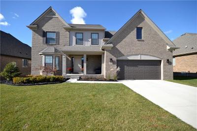 MACOMB Single Family Home For Sale: 49533 Bingham Lane