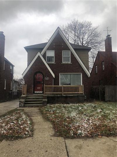 Detroit Single Family Home For Sale: 5791 Whittier Street